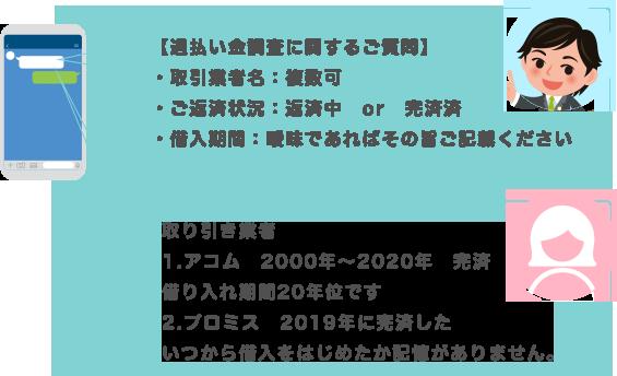 LINE画面サンプル